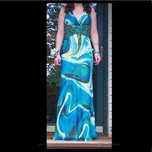 Faviana Couture Long Dress (Prom)